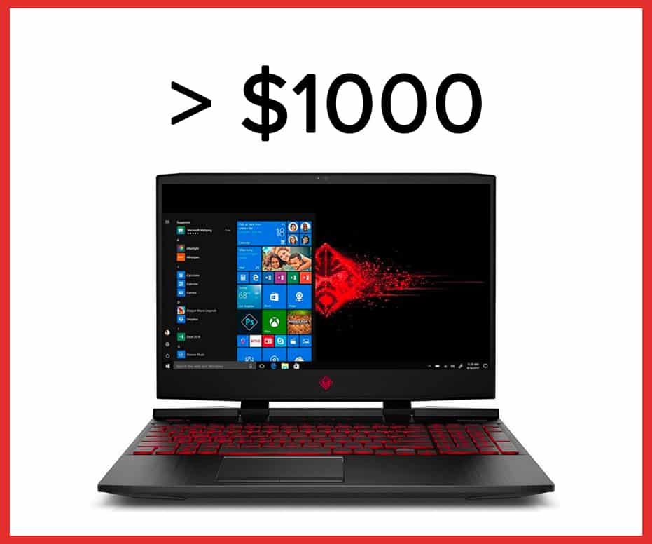 best laptop under $1000